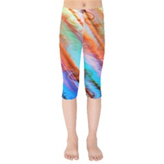 Cool Design Kids  Capri Leggings