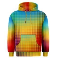 Blurred Color Pixels Men s Pullover Hoodie