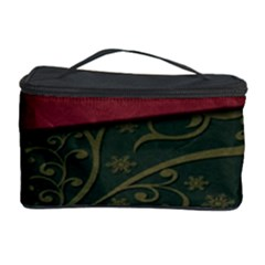 Beautiful Floral Textured Cosmetic Storage Case by BangZart