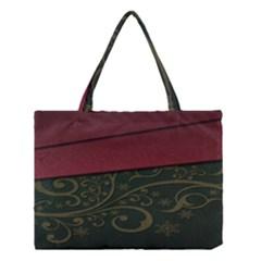 Beautiful Floral Textured Medium Tote Bag by BangZart