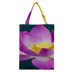 Pink Lotus Flower Classic Tote Bag