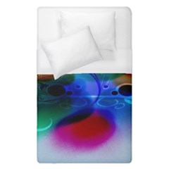 Abstract Color Plants Duvet Cover (single Size)