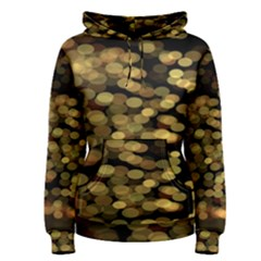 Blurry Sparks Women s Pullover Hoodie