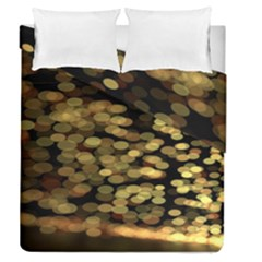 Blurry Sparks Duvet Cover Double Side (queen Size)