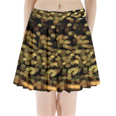 Blurry Sparks Pleated Mini Skirt
