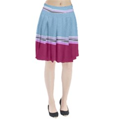 Cracked Tile Pleated Skirt