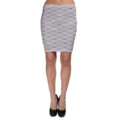 Roof Texture Bodycon Skirt
