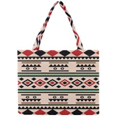Tribal Pattern Mini Tote Bag