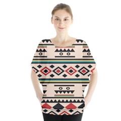 Tribal Pattern Blouse