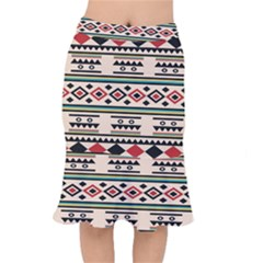 Tribal Pattern Mermaid Skirt