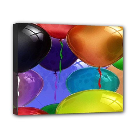 Colorful Balloons Render Canvas 10  X 8  by BangZart