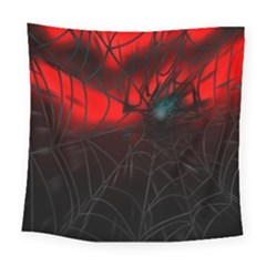 Spider Webs Square Tapestry (large) by BangZart