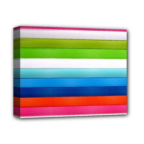 Colorful Plasticine Deluxe Canvas 14  X 11  by BangZart