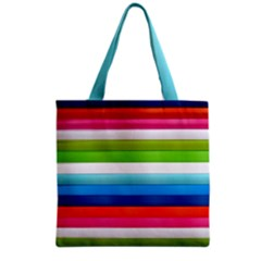 Colorful Plasticine Grocery Tote Bag by BangZart