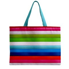 Colorful Plasticine Zipper Mini Tote Bag by BangZart