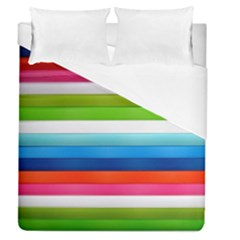Colorful Plasticine Duvet Cover (queen Size) by BangZart