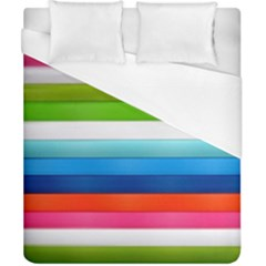 Colorful Plasticine Duvet Cover (california King Size) by BangZart