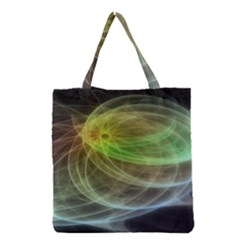 Yellow Smoke Grocery Tote Bag