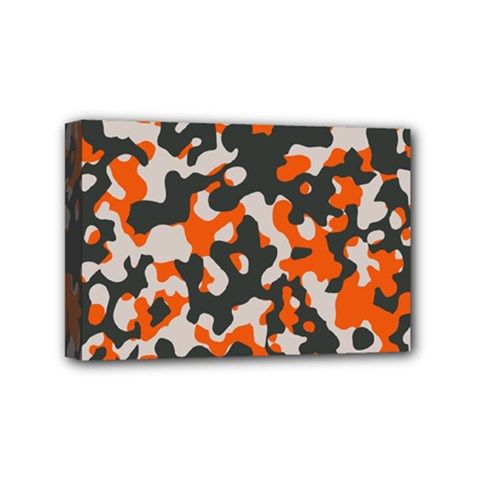 Camouflage Texture Patterns Mini Canvas 6  X 4  by BangZart