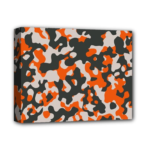 Camouflage Texture Patterns Deluxe Canvas 14  X 11  by BangZart