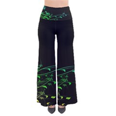 Abstract Colorful Plants Pants