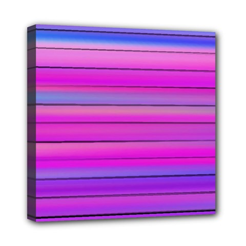 Cool Abstract Lines Mini Canvas 8  X 8  by BangZart