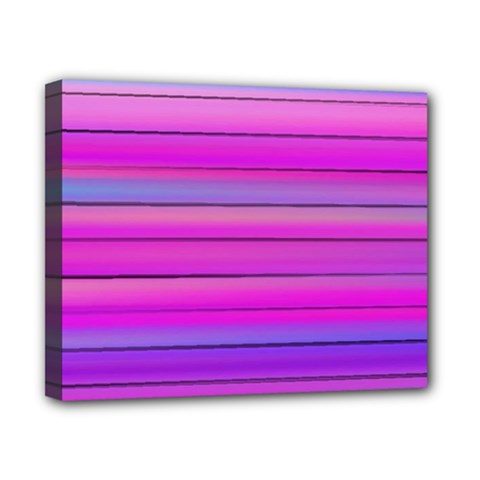 Cool Abstract Lines Canvas 10  X 8