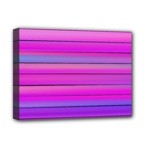 Cool Abstract Lines Deluxe Canvas 16  X 12   by BangZart