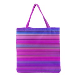 Cool Abstract Lines Grocery Tote Bag by BangZart