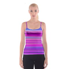 Cool Abstract Lines Spaghetti Strap Top