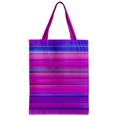 Cool Abstract Lines Zipper Classic Tote Bag