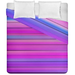 Cool Abstract Lines Duvet Cover Double Side (california King Size)