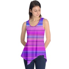 Cool Abstract Lines Sleeveless Tunic