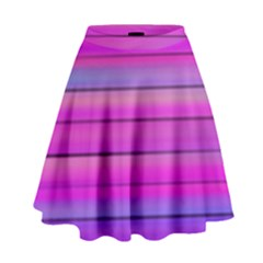 Cool Abstract Lines High Waist Skirt by BangZart