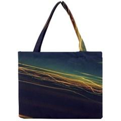 Night Lights Mini Tote Bag by BangZart