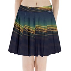 Night Lights Pleated Mini Skirt