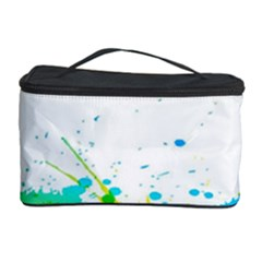 Colorful Abstract Cosmetic Storage Case by BangZart