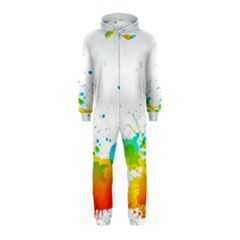Colorful Abstract Hooded Jumpsuit (kids)