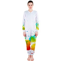 Colorful Abstract Onepiece Jumpsuit (ladies)