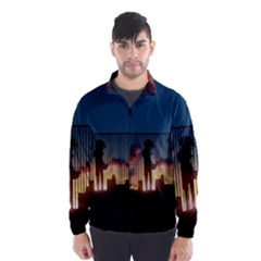 Art Sunset Anime Afternoon Wind Breaker (men)