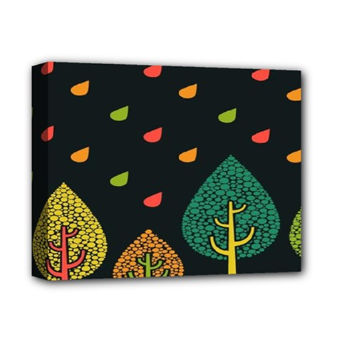 Vector Color Tree Deluxe Canvas 14  X 11  by BangZart