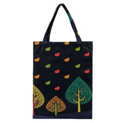 Vector Color Tree Classic Tote Bag
