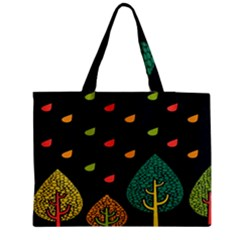 Vector Color Tree Medium Tote Bag