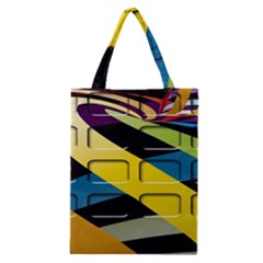 Colorful Docking Frame Classic Tote Bag