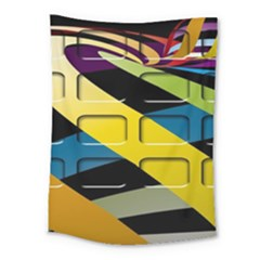 Colorful Docking Frame Medium Tapestry by BangZart