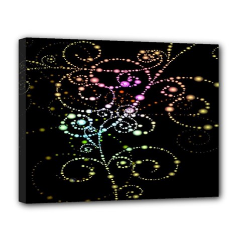 Sparkle Design Canvas 14  X 11  by BangZart