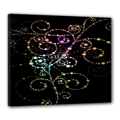 Sparkle Design Canvas 24  X 20  by BangZart