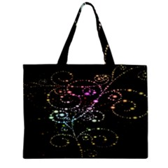 Sparkle Design Zipper Mini Tote Bag by BangZart