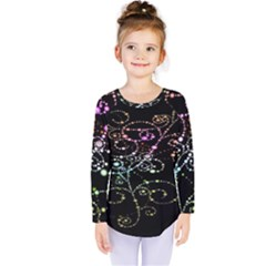 Sparkle Design Kids  Long Sleeve Tee