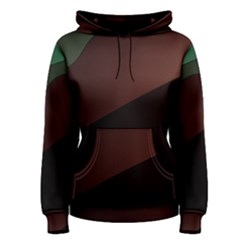Color Vague Abstraction Women s Pullover Hoodie